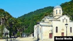 Новоафонский монастырь. Храм Святого апостола Симона Кананита.