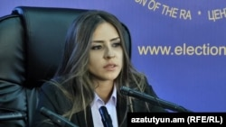 Советник юстиции второго класса Шушаник Исраелян, Ереван, 23 сентября 2018 г.