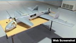 Photo of an Iranian drone taken in Yemen