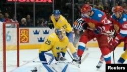Матч Кубка мира по хоккею Россия – Швеция