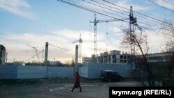 """Строительный объект группы компаний """"Монолит"""" на территории бывшего завода """"Сантехпром"""""""