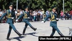 Празднование Дня независимости в Бишкеке. 21 августа 2013 года.