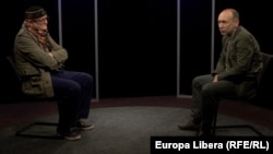 În studioul Europei Libere