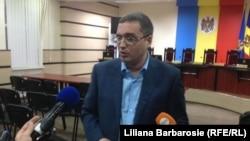 Renato Usatîi la Comisia Electorală Centrală din Chișinău, 26.11.2014