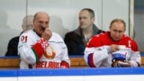 Аляксандар Лукашэнка і Ўладзімер Пуцін ў Сочы