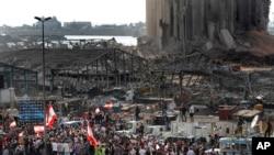 Внаслідок вибуху в порту Бейрута загинули понад 170 людей, більше ніж шість тисяч – поранені, сотні тисяч людей залишилися без житла