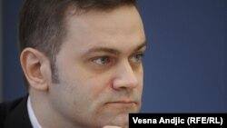 Shefi i Grupit Parlamentar të Partisë Demokratike të Serbisë, Borisllav Stefanoviq.