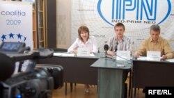 Conferința de presă despre monitorizarea audiovizualului