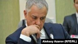 Директор ТОО «Almaty Mountain Resorts» Наиль Нуров. Алматы, 21 февраля 2018 года.