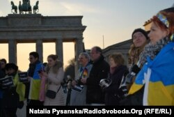 Мітинг біля Бранденбурзьких воріт