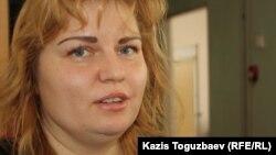 Елена Манякина, әлеуметтік педагог. Алматы, 24 желтоқсан 2012 жыл