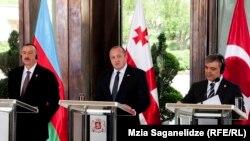 აზერბაიჯანის, საქართველოსა და თურქეთის პრეზიდენტები