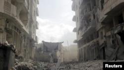 Идлиб шаары, Сирия. 2015-жыл