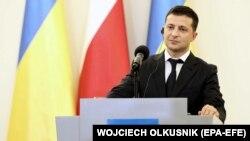 Владимир Зеленский в Варшаве