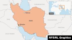 Abadan Locator Map