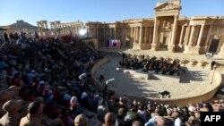 Концерт в амфітеатрі сирійського міста Пальміра, 5 травня 2016 року