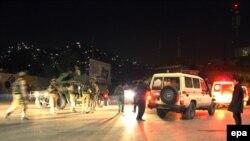حمله شب گذشته به زیارت سخی در شهر کابل