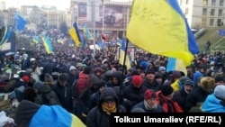 Ukraine - protest in Kiev, December 3, 2013.