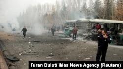 Vendi i shpërthimit në Kayseri, Turqi