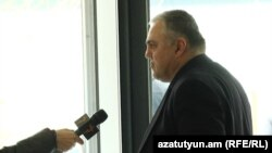 Armenia -- Norayr Panosian, a former senior Justice Ministry official, speaksto RFE/RK, January 8, 2020.