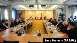 Saslušanje ministra Boškovića pred Odborom za zdravstvo, rad i socijalno staranje