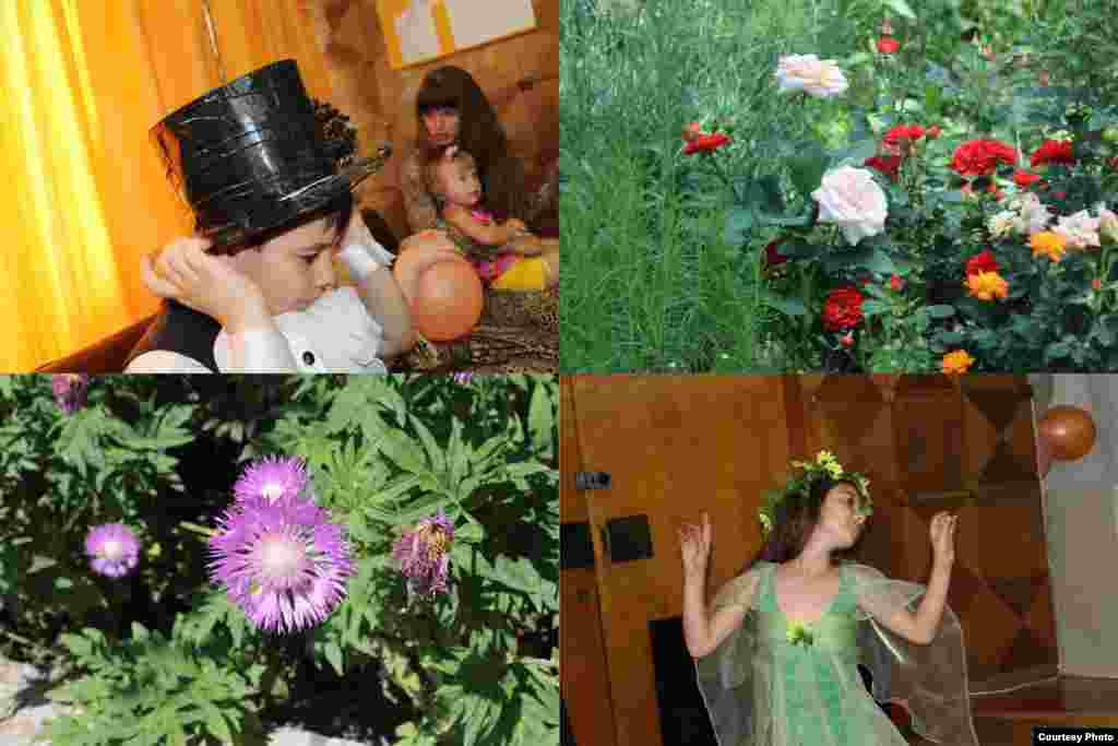 Bohdan-Liubomyr Prytula is a 5-year-old from Simferopol, Ukraine. Bohdan took pictures of his friends taking part in the Studio Svitanok children's theater, and of flowers in the city center.
