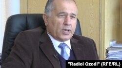 Сайфулло Сафаров, замдиректора Центра стратегических исследований при президенте РТ
