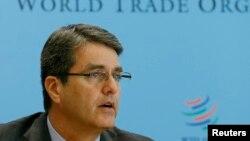 Дүниежүзілік сауда ұйымының басшысы Роберто Азеведо.