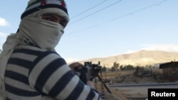 یک شورشی سوری در داریا