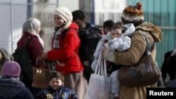 Փախստականներ Եվրոպայում, փետրվար, 2016թ․
