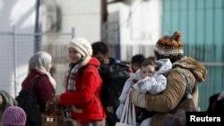 Preševo na granici Srbije i Makedonije, ilustracija