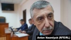 Сулейман Кадиров на засіданні суду. Феодосія, 12 лютого 2018 року