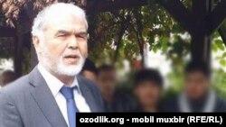 «Өзбекстанның халық қозғалысы» төрағасы Мұхаммад Салих.