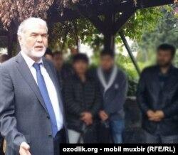 Оппозиционный узбекский политик Мухаммад Салих.