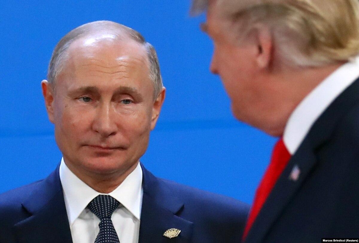 Трамп и Путин встретятся на саммите G20 в Осаке