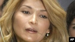 Гүлнара Каримова. Мәскеу, 2 сәуір 2011 жыл.