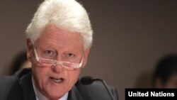 Former U.S. President Bill Clinton has been serving as special envoy for Haitian reconstruction following the January 12, 2010, earthquake on the island.