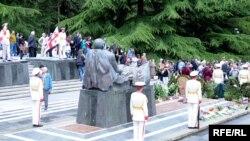 Мемориал Неизвестного солдата в парке Ваке в Тбилиси