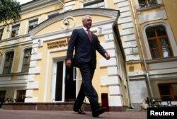 Кандидат Собянин у Московской городской избирательной комиссии