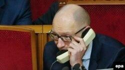 Украинанын өкмөт башчысы Арсений Яценюк.