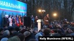 Алексей Навальный в Калининграде, вечер 10 декабря 2017
