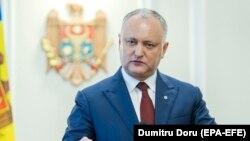 Igor Dodon, președintele Republicii Moldova, a participat la un nou marș pentru familie, desfășurat la Chișinău