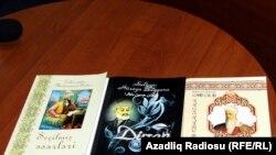 Azerbaýjanda türki halklaryň edebiýatyna degişli üç şahyryň kitaby çap edildi.