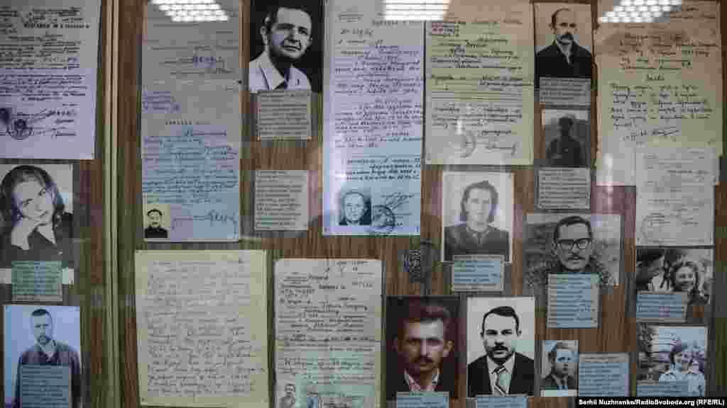 Фотографии и документы репрессированных шестидесятников