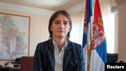 Ана Брнабич, кандидат на пост премьер-министра Сербии.