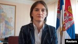 Ана Брнабич, Сербия премьер-министрлігіне кандидат.