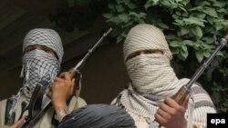 """""""Техрик-е-Талибан Пәкістан"""" тобының мүшелері. Көрнекі сурет"""