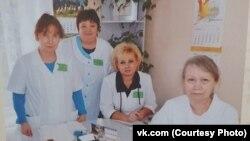 Валентина Колодяжная (вторая слева), погибшая от коронавируса