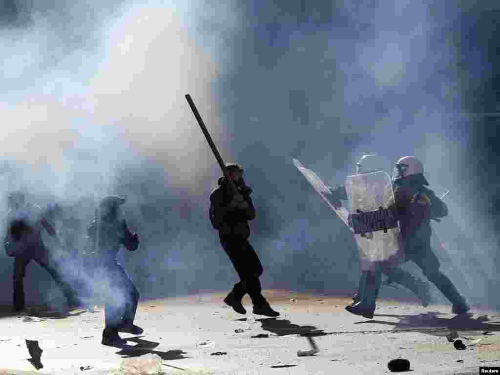 Atina, 19.10.2011. Foto: Reuters / John Kolesidis