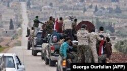 شبهنظامیان طرفدار دولت سوریه در عفرین